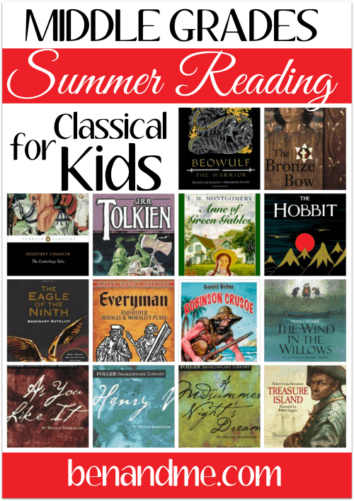 summer reading for middle school