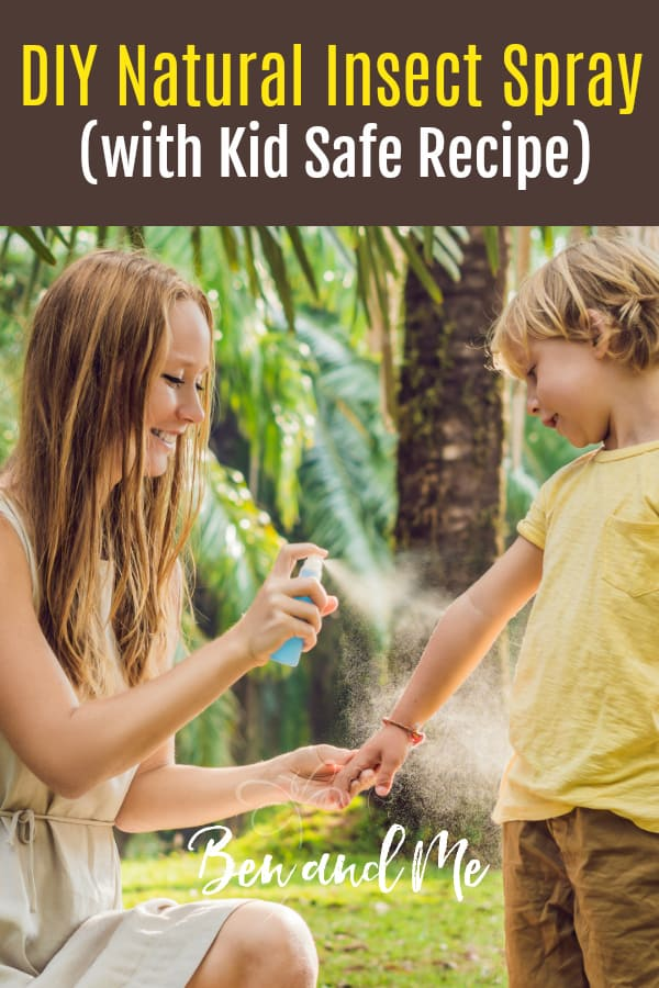 My favorite essential oils recipe for a DIY insect repellent for both spray and roll-on application. Repels mosquitos, ticks, biting flies, and more. Includes an additional recipe safe for young children. #DIYinsectspray #essentialoils #aromatherapy #naturalhealthy #mosquitorepellent #essentialoilsforkids #essentialoilsforbeginners #oilykids #oilyfamily