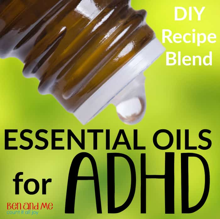 Using Essential Oils for ADHD