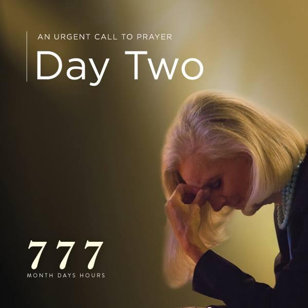 call to prayer day 2