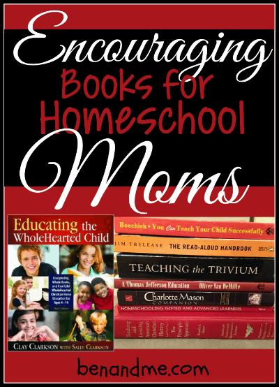 encouraging books for homeschool moms