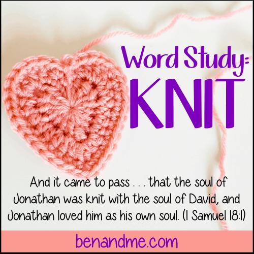 Word Study: Knit
