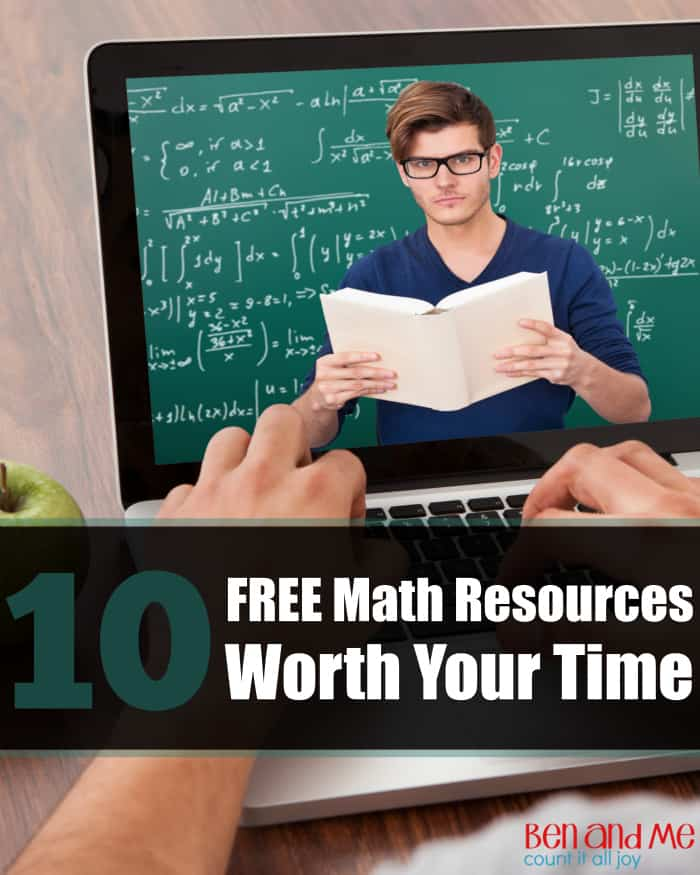 Homeschooling for Free — 10 Math Resources Worth Your Time