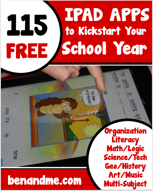 115 iPad Apps to Kickstart Your School Year
