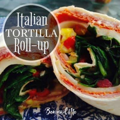 Italian Tortilla Roll-Up Recipe