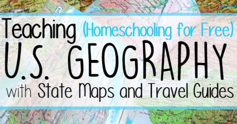 Teaching U.S. Geography with State Maps and Travel Guides facebook