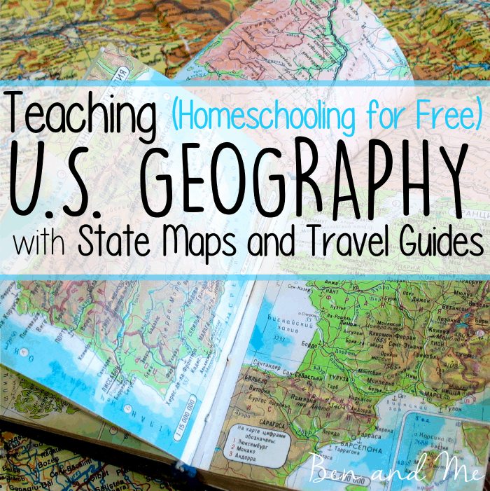 Teaching U. S. Geography with State Maps and Travel Guides - Ben and Me