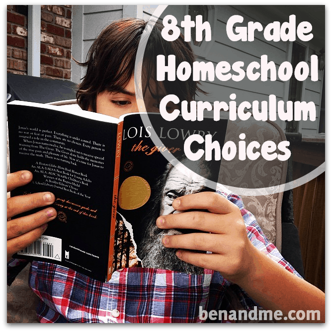 curriculum choices grade 8