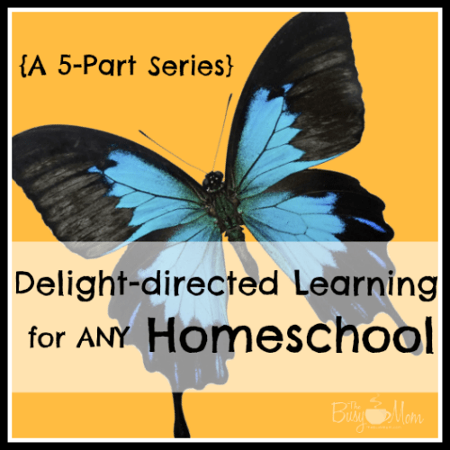 Delight-Directed Learning for Any Homeschool (a 5-part series)