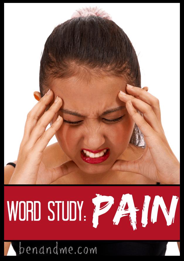 pain word study