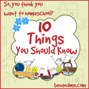 10 things about homeschool