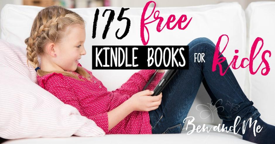 175 Free Kindle Books for Kids fb