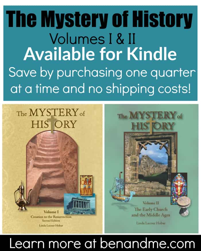 The Mystery of History Available for Kindle