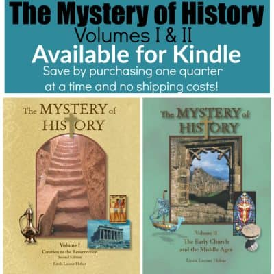 The Mystery of History on KINDLE!