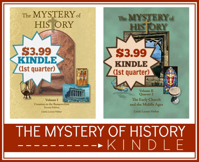 The Mystery of History on Kindle