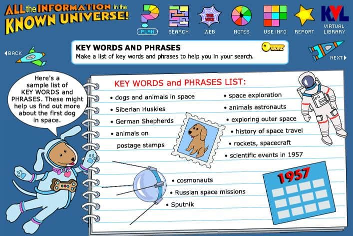 keywords and phrases