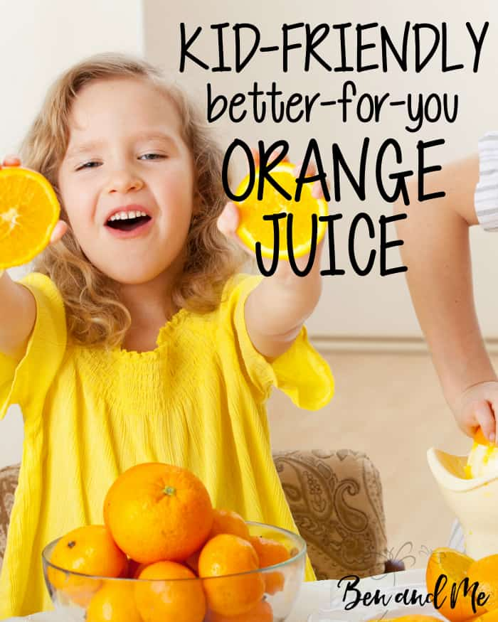 Orange juice alone is not all that healthy. Make a healthy orange juice by adding pineapple, carrots, sweet potato and pear with this juice recipe for kids.