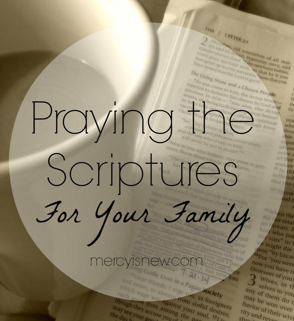 Praying-the-Scriptures-For-Your-Family-