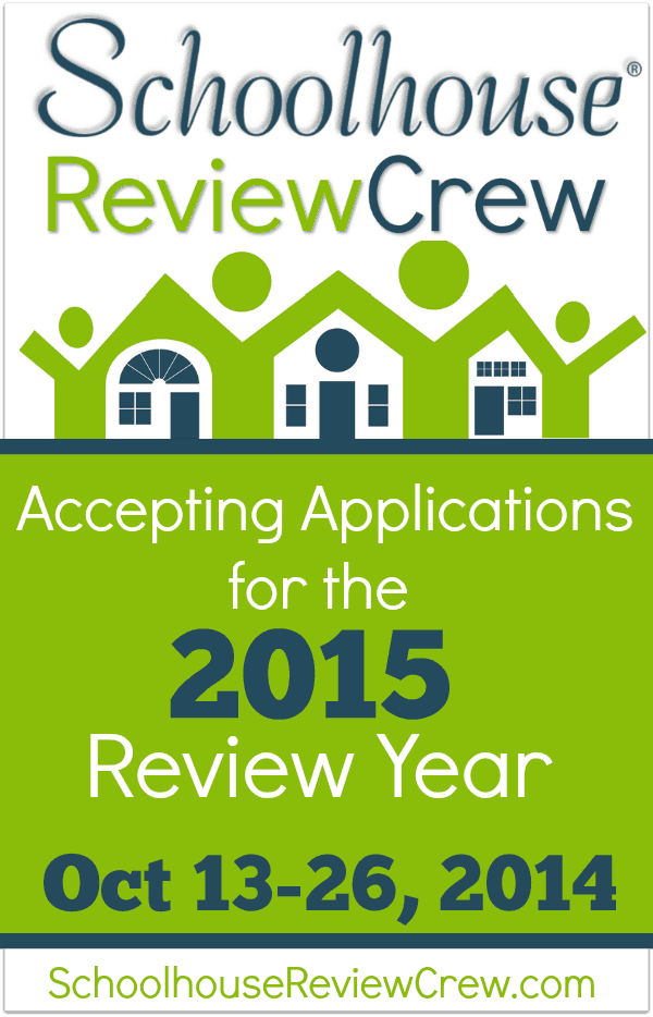 Schoolhouse Review Crew now taking applications!