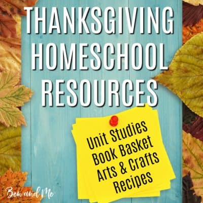 Thanksgiving Homeschool Resources