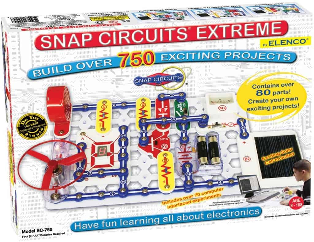 snap circuits 750 piece set