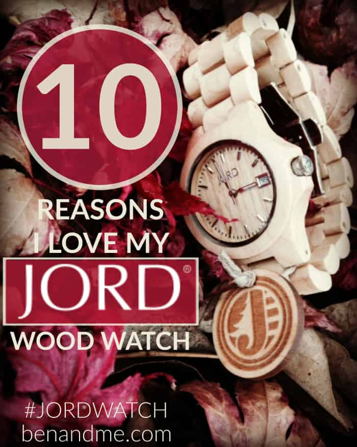 10 Reasons I Love My #JORDWATCH JORD Wood Watch