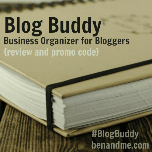 Blog Buddy: Business Organizer for Bloggers (review and free shipping code!)