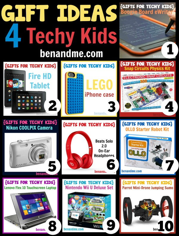 Gift Ideas for Techy Kids