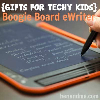 Gifts for Tech Kids Boogie Board eWriter