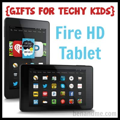 Gifts for Techy Kids Fire HD Tablet