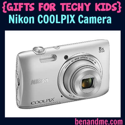 Gifts for Techy Kids Nikon Coolpix Camera