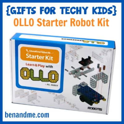 Gifts for Techy Kids OLLO Starter Robot Kit