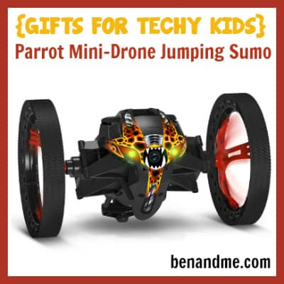 Gifts for Techy Kids Parrot Mini Drone Jumping Sumo