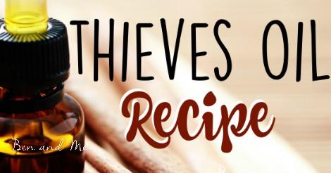 Thieves Oil Recipe FB rec