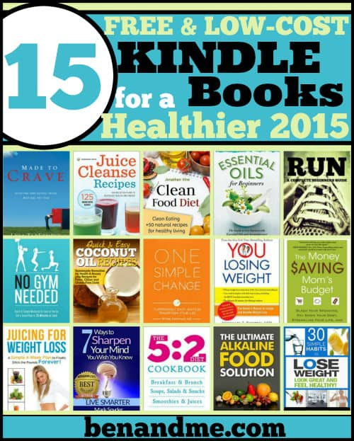 15 Free and Low-Cost Kindle Books for a Healthier 2015