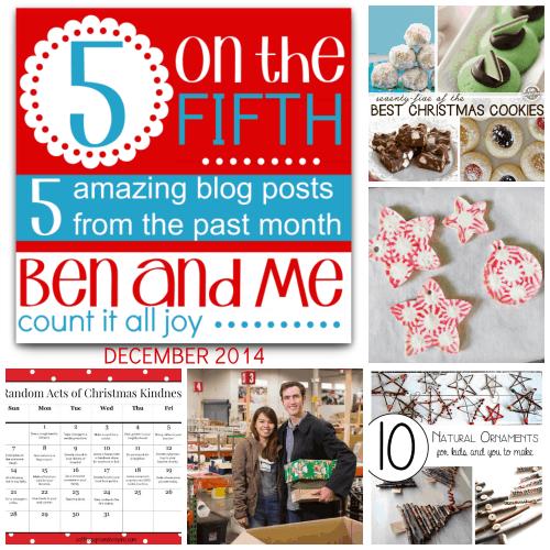 5 on the Fifth — Favorite Blog Posts December 2014