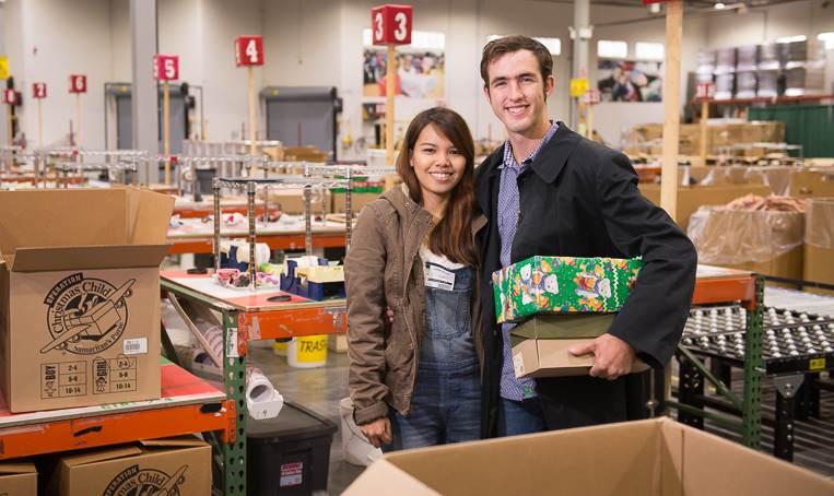 Samaritans Purse Shoebox Love
