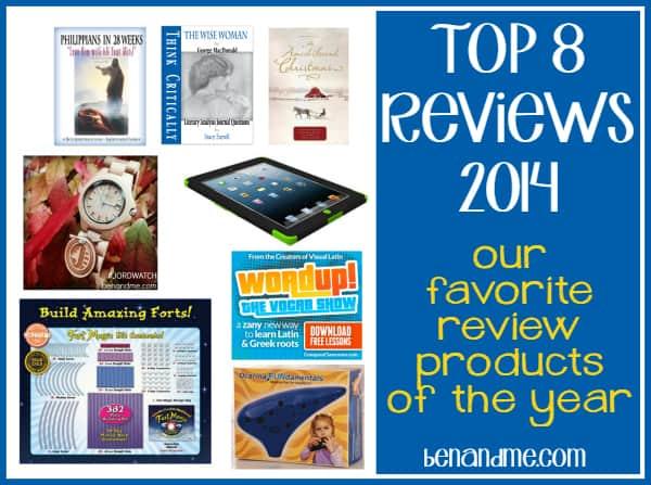 Top 8 Reviews of 2014