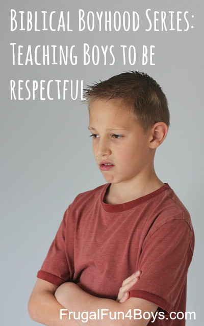 Teaching Boys to Be Respectful