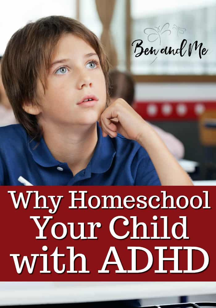 Why homeschool your child with ADHD? Here are 5 reasons why homeschooling is a great option and should be considered with other ADHD strategies. #whyhomeschool #ADHD #homeschool #homeschooling #ADHDstrategies #ADHDhomeschool #homeschoollife #homeschoolmom #starthomeschooling