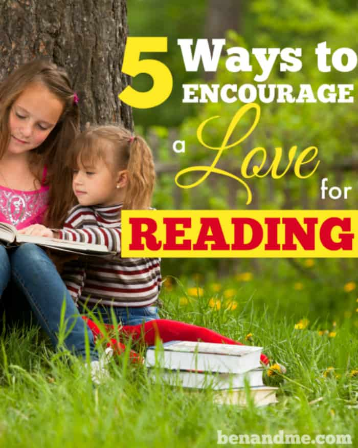5 Ways to Encourage a Love for Reading -- March is national reading month!
