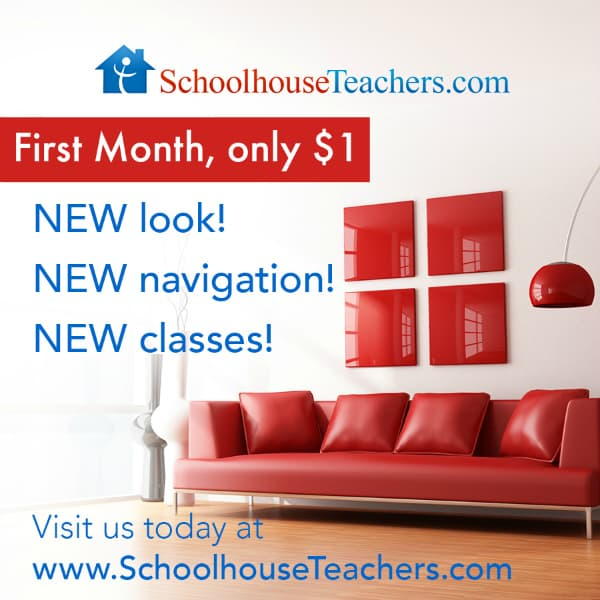 New and Improved: SchoolhouseTeachers.com