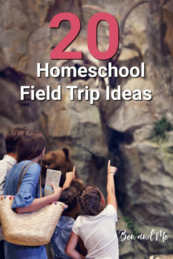 I've often said that if I ever write a book, it will be titled, Homeschooling by the Field Trip Method. Here are 20 homeschool field trip ideas to get you started. #homeschool #homeschoolfieldtrips #fieldtripideas #homeschooltips #howtohomeschool