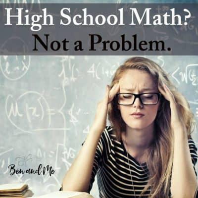High School Math? Not a Problem