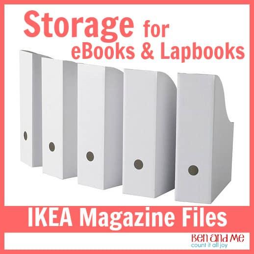 IKEA Magazine Boxes