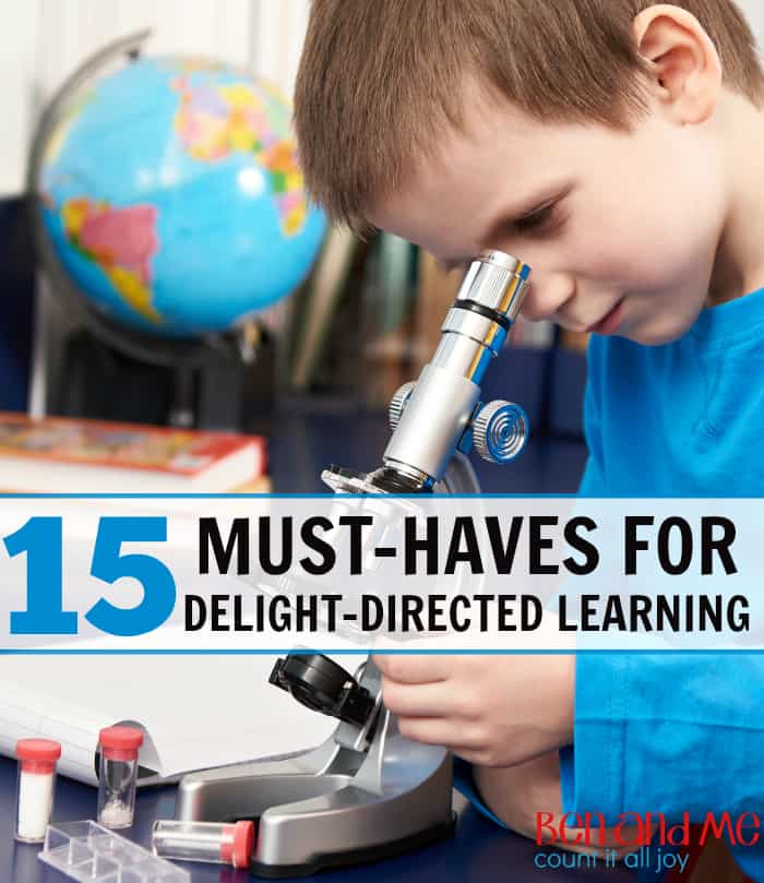 15 Must Haves for Delight-directed Learning