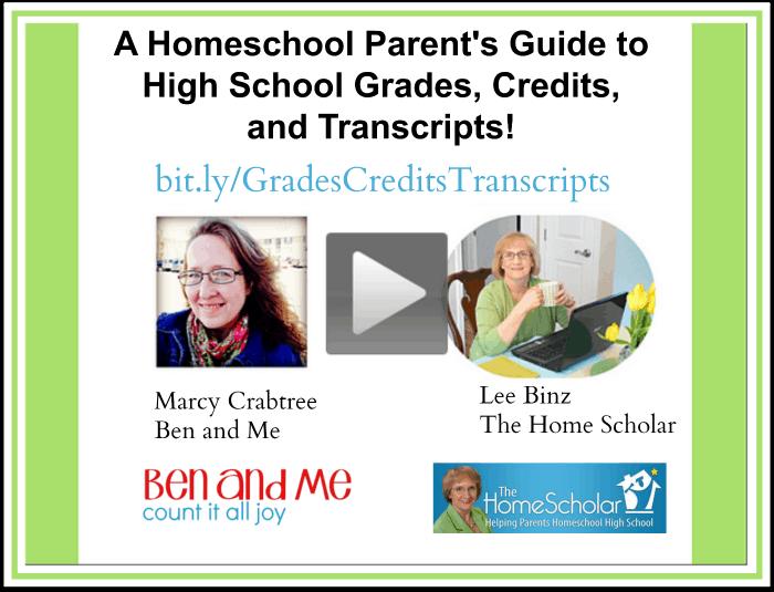 A Homeschool Parent's Guide to High School Grades, Credits, and Transcripts