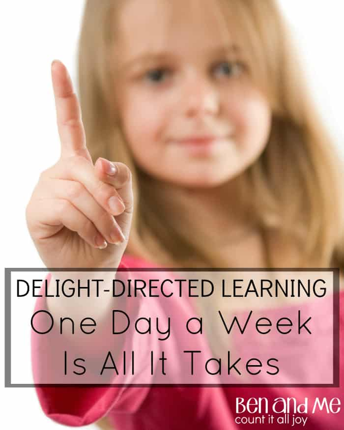 Delight-directed Learning: One Day A Week Is All It Takes