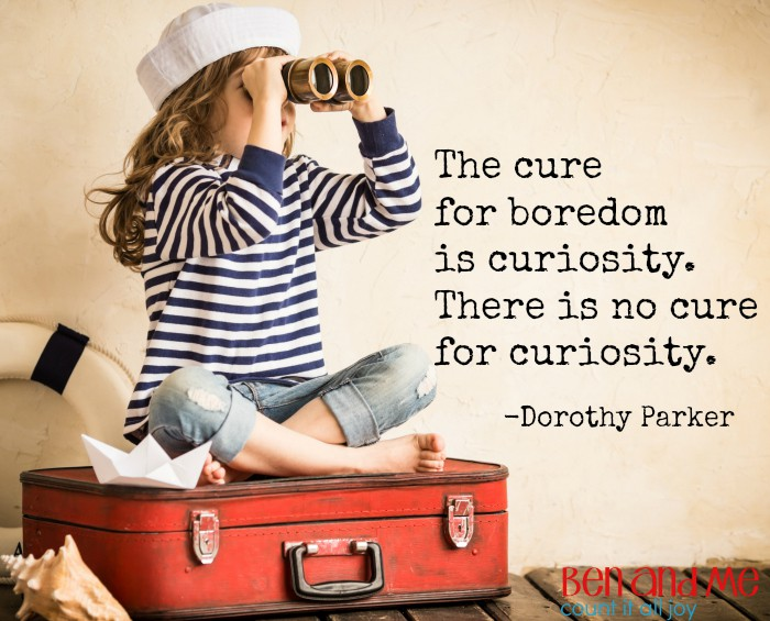 There is no cure for curiosity