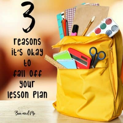 Delight-directed Learning: It's Okay to Fall Off Your Lesson Plan